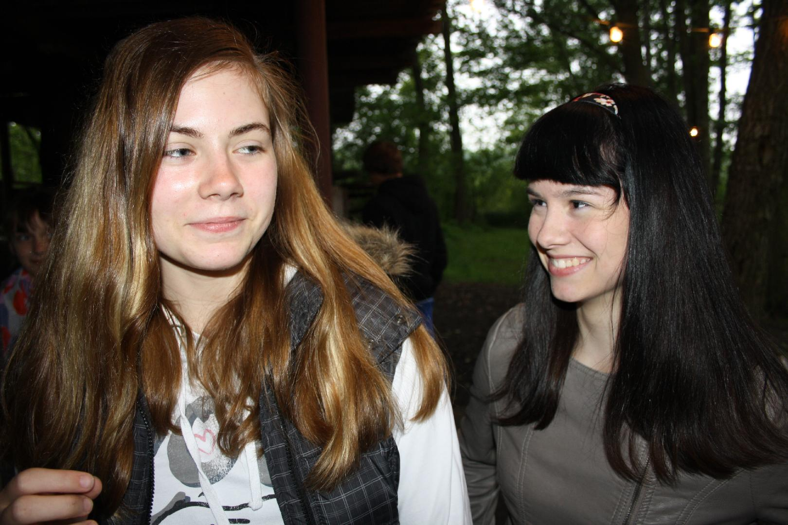 09 Antonia und Cynthia
