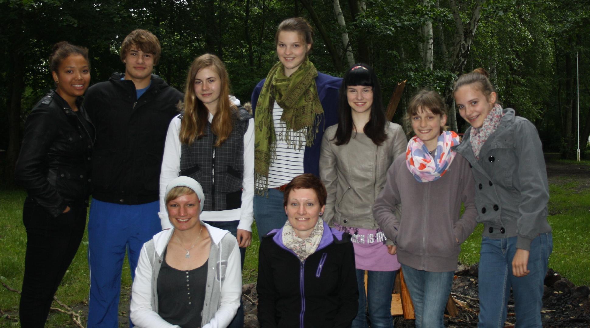 11 Grosses Gruppenbild